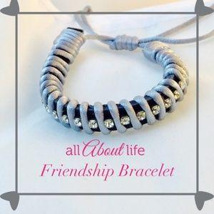 👶5/$25 Gray Friendship Bracelet